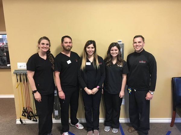 Staff accepted into physical therapy programs