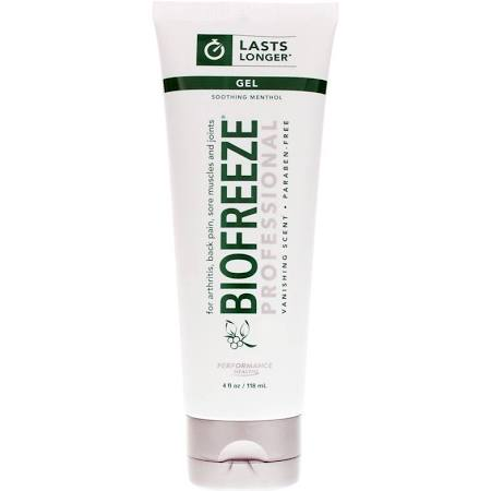 4 oz. Tube, Original Green Biofreeze Professional Pain Relieving Gel